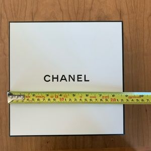 Authentic Chanel cosmetic box